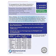 DOPPELHERZ Säure-Basen Balance DIRECT Pellets 20 Stück - Rückseite