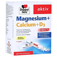 Doppelherz aktiv Magnesium + Calcium + D3 Direkt 20 Stück