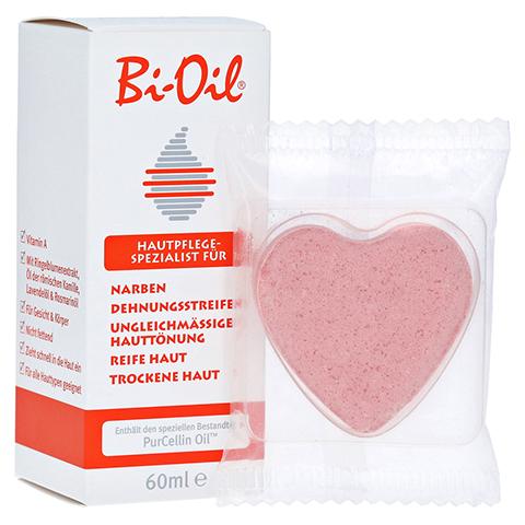 BI OIL + gratis Badeherz Magnolia 60 Milliliter