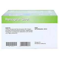 RENAPRO Shot Apfel flüssig 30x60 Milliliter - Linke Seite