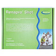 RENAPRO Shot Apfel flüssig 30x60 Milliliter - Vorderseite
