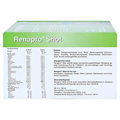 RENAPRO Shot Apfel flüssig 30x60 Milliliter - Oberseite