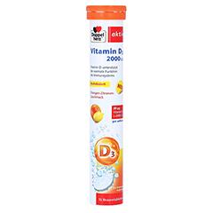 DOPPELHERZ Vitamin D3 2000 I.E. Brausetabletten 15 Stück
