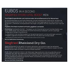 EUBOS IN A SECOND Siegfried Hydro Vital Men Set 3x2 Milliliter - Rückseite