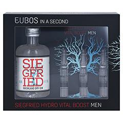 EUBOS IN A SECOND Siegfried Hydro Vital Men Set 3x2 Milliliter - Vorderseite