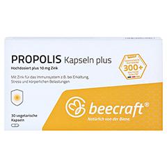 BEECRAFT Propolis Kapseln Plus 30 Stück - Vorderseite