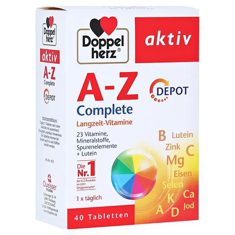 Doppelherz aktiv A-Z Depot Langzeit-Vitamine 40 Stück
