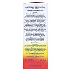 Doppelherz aktiv A-Z Depot Langzeit-Vitamine 40 Stück - Rechte Seite