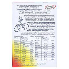 Doppelherz aktiv A-Z Depot Langzeit-Vitamine 40 Stück - Rückseite