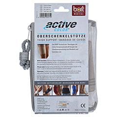 BORT ActiveColor Oberschenkelstütze L haut 1 Stück - Rückseite
