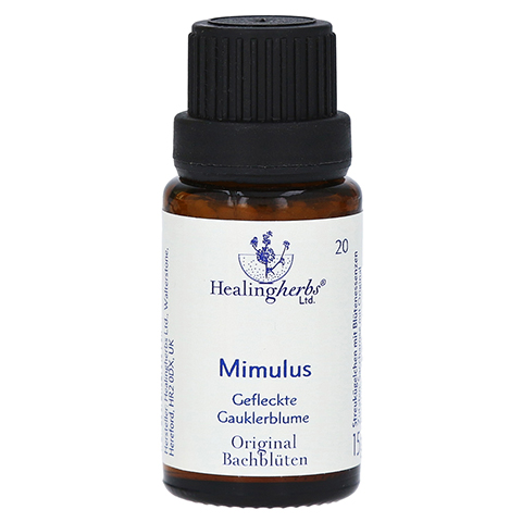 BACHBLÜTEN Mimulus Globuli Healing Herbs 15 Gramm