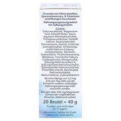 DOPPELHERZ Sport DIRECT Vitamine+Mineralien 20 Stück - Rechte Seite