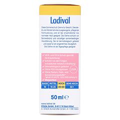 LADIVAL empfindliche Haut Creme LSF 30 + gratis Ladival Anti-Pigment Creme LSF 30 (5 ml) 50 Milliliter - Rechte Seite