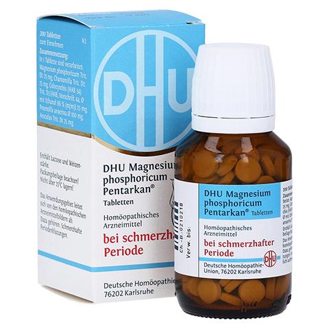 DHU Magnesium phos.Pentarkan Periodenschmerz Tabl. 200 Stück N2