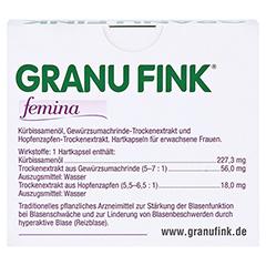 GRANU FINK femina 60 Stück - Rückseite