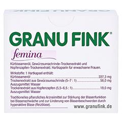 GRANU FINK femina 120 Stück - Rückseite