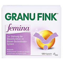 GRANU FINK femina 120 Stück - Vorderseite