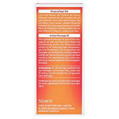 WELEDA Arnika Massageöl 50 Milliliter - Rückseite