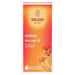 WELEDA Arnika Massageöl 50 Milliliter - Vorderseite