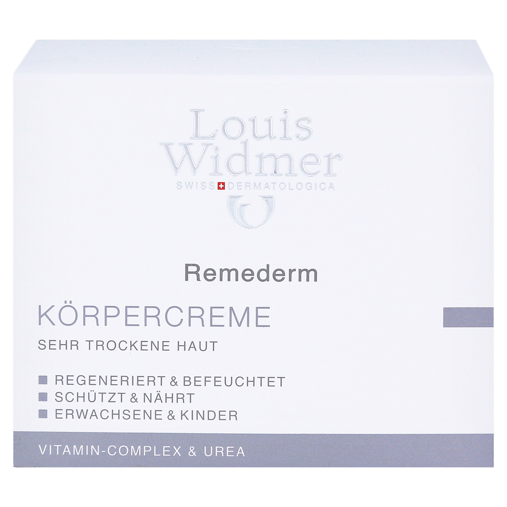 erfahrungen zu widmer remederm k rpercreme leicht parf miert 250 milliliter medpex versandapotheke. Black Bedroom Furniture Sets. Home Design Ideas