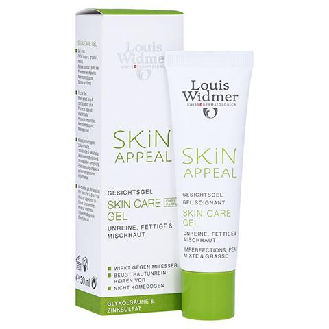 WIDMER Skin Appeal Skin Care Gel unparfümiert 30 Milliliter