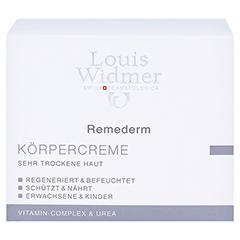 WIDMER Remederm Körpercreme leicht parfümiert 250 Milliliter - Vorderseite