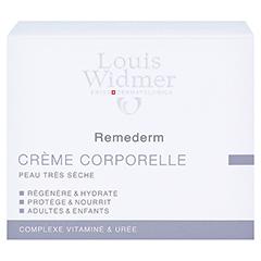 WIDMER Remederm Körpercreme leicht parfümiert 250 Milliliter - Rückseite