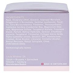 WIDMER Creme Nutritive leicht parfümiert 50 Milliliter - Rechte Seite