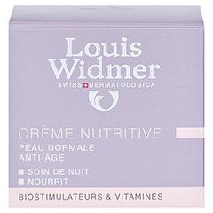 WIDMER Creme nutritive leicht parfümiert 50 Milliliter - Rückseite