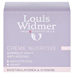 WIDMER Creme Nutritive leicht parfümiert 50 Milliliter - Vorderseite