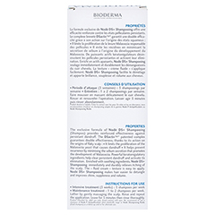 BIODERMA Node DS+ Anti-Schupp.Shampoo antirezidiv 125 Milliliter - Rückseite