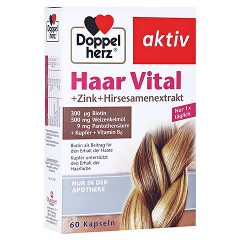 Doppelherz aktiv Haar Vital + Zink + Hirseextrakt 60 Stück