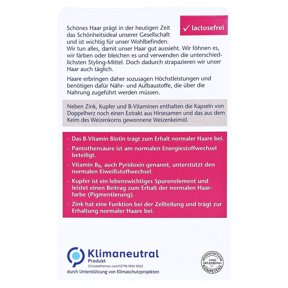 Erfahrungen Zu Doppelherz Aktiv Haar Vital Zink Hirseextrakt 60