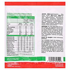 Eiweiss 100 Himbeer Megamax Pulver 30 Gramm - Rückseite