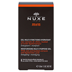 NUXE Men Gel Multi-Fonctions-Hydratant 50 Milliliter - Vorderseite