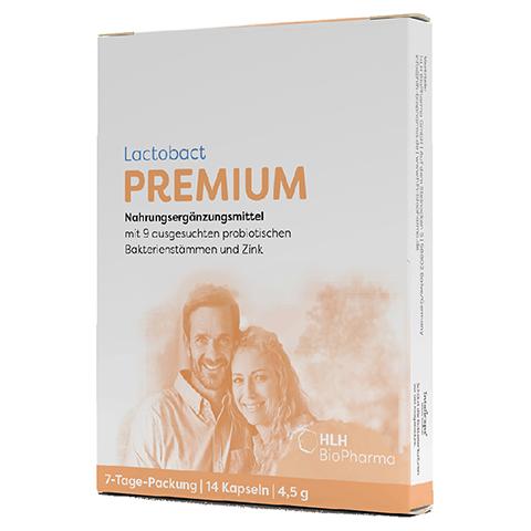 LACTOBACT PREMIUM 7-Tage Packung magensaftres.Kps. 14 Stück