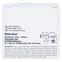 EUCERIN pH5 Intensiv Creme F 75 Milliliter - Rückseite