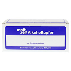 MOLL-ZELL Alkoholtupfer 100 St�ck - Vorderseite