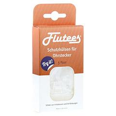FLUTEES Schutzhülsen für Ohrstecker 5 Stück