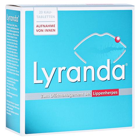 Lyranda Kautabletten 20 Stück