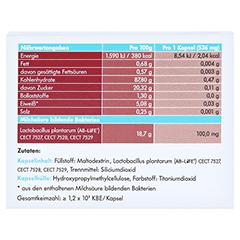 Symbiolact Cholesterin Control Kapseln 30 Stück - Rückseite