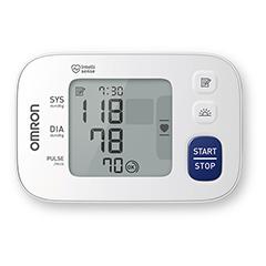 OMRON RS4 Handgelenk Blutdruckmessgerät HEM-6181-D 1 Stück - Vorderseite