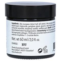Oliveda F18 Maske schwarze Oliven - Rejuvenating 60 Milliliter - Linke Seite
