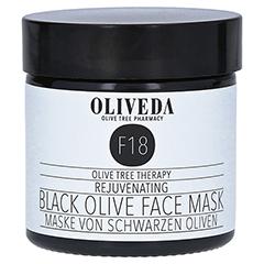 Oliveda F18 Maske schwarze Oliven - Rejuvenating 60 Milliliter