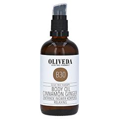 Oliveda B30 Körperöl Zimtrinde Ingwer - Relaxing 100 Milliliter