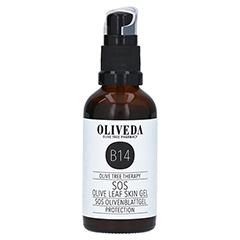 Oliveda B14 SOS Olivenblatt Gel Protection 50 Milliliter