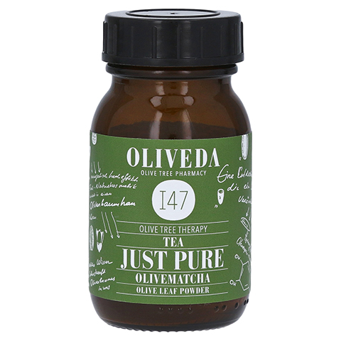 Oliveda I47 OliveMatcha Just Pure 30 Gramm