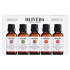 Oliveda Körperöle-Set 1 Stück - Vorderseite