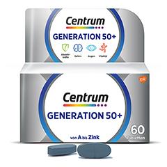 CENTRUM Generation 50+ Tabletten 60 Stück