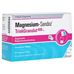 MAGNESIUM SANDOZ Trinkgranulat 400 mg Beutel 18 Stück